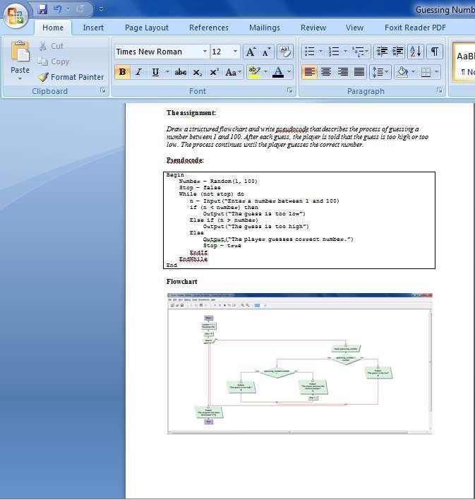 Visual logic homework help
